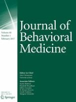 Journal of Behavioral Medicine 1/2017