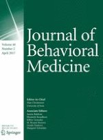 Journal of Behavioral Medicine 2/2017