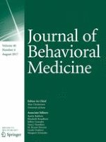 Journal of Behavioral Medicine 4/2017