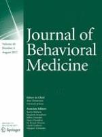 Journal of Behavioral Medicine 4/2017