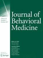 Journal of Behavioral Medicine 5/2017
