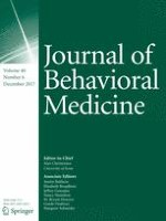 Journal of Behavioral Medicine 6/2017
