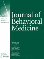 Journal of Behavioral Medicine 1/2018