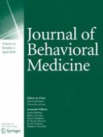 Journal of Behavioral Medicine 2/2018