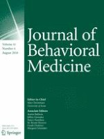 Journal of Behavioral Medicine 4/2018