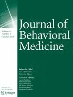 Journal of Behavioral Medicine 5/2018