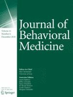 Journal of Behavioral Medicine 6/2018