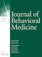 Journal of Behavioral Medicine 3/2019