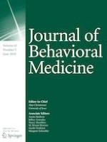 Journal of Behavioral Medicine 3/2019