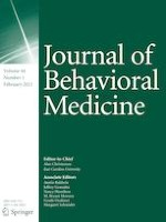 Journal of Behavioral Medicine 1/2021