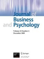 Journal of Business and Psychology 4/2009