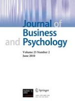 Journal of Business and Psychology 2/2010
