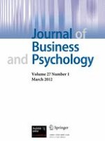 Journal of Business and Psychology 1/2012