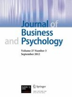 Journal of Business and Psychology 3/2012