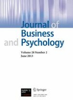 Journal of Business and Psychology 2/2013