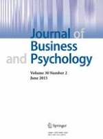 Journal of Business and Psychology 2/2015