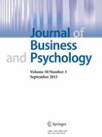 Journal of Business and Psychology 3/2015