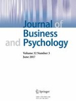 Journal of Business and Psychology 3/2017