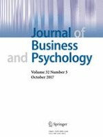 Journal of Business and Psychology 5/2017