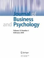 Journal of Business and Psychology 1/2018