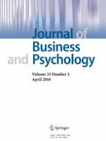 Journal of Business and Psychology 2/2018