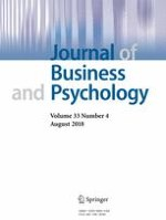 Journal of Business and Psychology 4/2018