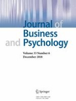 Journal of Business and Psychology 6/2018