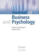 Journal of Business and Psychology 4/2020