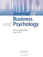 Journal of Business and Psychology 4/2021
