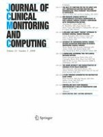 Journal of Clinical Monitoring and Computing 3/2008