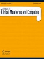 Journal of Clinical Monitoring and Computing 6/2015