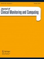 Journal of Clinical Monitoring and Computing 5/2016