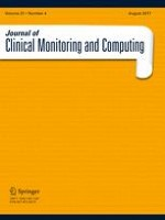 Journal of Clinical Monitoring and Computing 4/2017