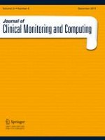 Journal of Clinical Monitoring and Computing 6/2017