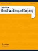 Journal of Clinical Monitoring and Computing 3/2018
