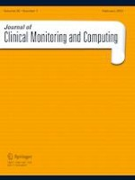 Journal of Clinical Monitoring and Computing 1/2021