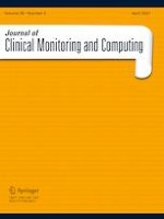 Journal of Clinical Monitoring and Computing 2/2021