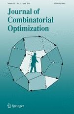 Journal of Combinatorial Optimization 3/2018