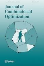 Journal of Combinatorial Optimization 4/2019