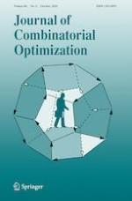 Journal of Combinatorial Optimization 3/2020