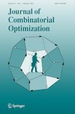 Journal of Combinatorial Optimization 2/2021