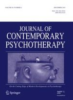 Journal of Contemporary Psychotherapy 4/2010