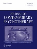 Journal of Contemporary Psychotherapy 3/2016