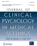 Journal of Clinical Psychology in Medical Settings 4/2010