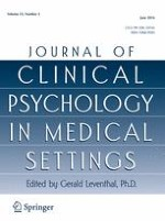 Journal of Clinical Psychology in Medical Settings 2/2016