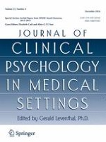 Journal of Clinical Psychology in Medical Settings 4/2016