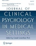Journal of Clinical Psychology in Medical Settings 1/2017