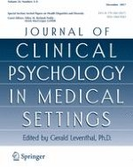 Journal of Clinical Psychology in Medical Settings 3-4/2017