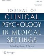 Journal of Clinical Psychology in Medical Settings 1/2019