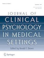 Journal of Clinical Psychology in Medical Settings 3/2019